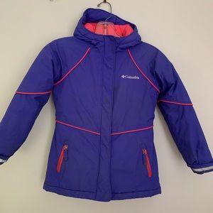 Columbia Girls winter coat jacket parka